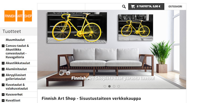 finnishartshop.fi alennuskoodi